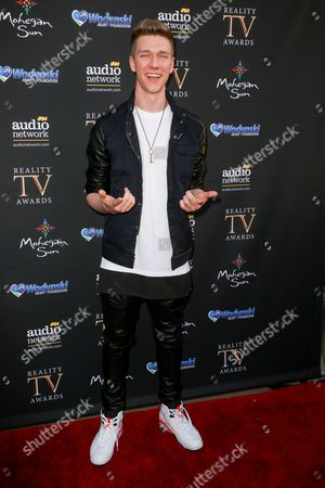 Collins Key arrives at the 3rd Annual Reality TV Awards at the Avalon Hollywood, in Los Angeles
