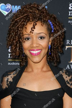 Chrystee Pharris arrives at the 3rd Annual Reality TV Awards at the Avalon Hollywood, in Los Angeles