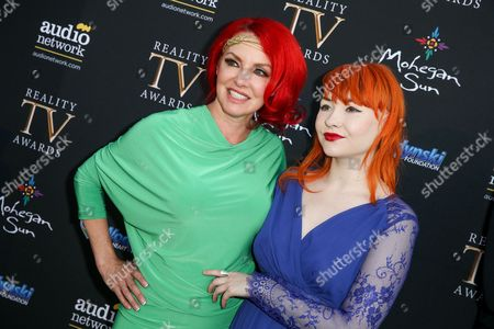 Gretchen Bonaduce, left, and Countess Bonaduce arrive at the 3rd Annual Reality TV Awards at the Avalon Hollywood, in Los Angeles