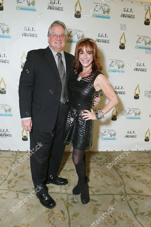 Brian Dyak and Claudia Wells at the 3rd Annual Set Awards ceremony at The Beverly Hills Hotel on in Beverly Hills, Calif