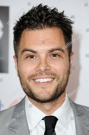 Erik Valdez arrives at the 5th Annual Face Forward Gala held at the the Millennium Biltmore Hotelon Saturday, Sept.13, 2014, in Los Angeles