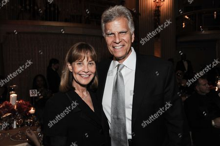Mark Spitz, right, and Suzy Spitz attend the 5th Annual Face Forward Gala held at the the Millennium Biltmore Hotel on Saturday, Sept.13, 2014, in Los Angeles
