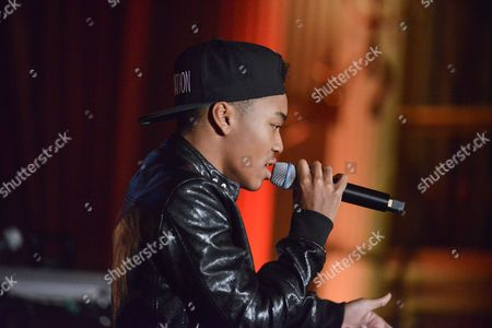 Josh Levi performs on stage at the 5th Annual Face Forward Gala held at the the Millennium Biltmore Hotelon Saturday, Sept.13, 2014, in Los Angeles