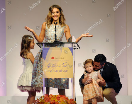 Editorial picture of 85th Helping Hand of Los Angeles Mother's Day Luncheon Honoring Jessica Alba, Beverly Hills, USA
