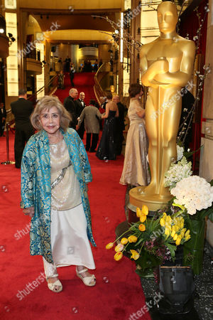 Stock Picture of June Foray arrives at the Oscars, at the Dolby Theatre in Los Angeles