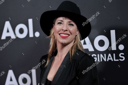 Tiffany Shlain attends AOL's Fall Programming Premiere Event, in West Hollywood, Calif