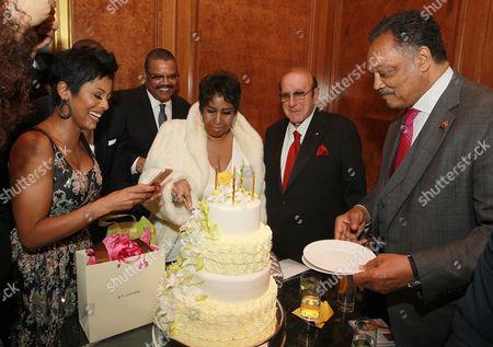 Editorial photo of Aretha Franklin 74th Birthday Celebration, New York, USA