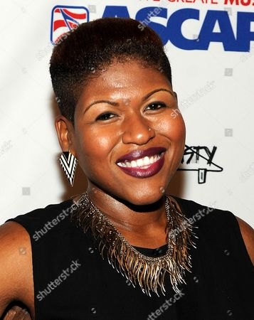 Stacy Barthe attends ASCAP'S 5th Annual Women Behind the Music Series to Celebrate Contributions of Women in the Music Industry, at Bardot, in Hollywood, Calif