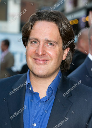 Julian Gilbey arrives for the UK film premiere of Plastic at Central London cinema, London