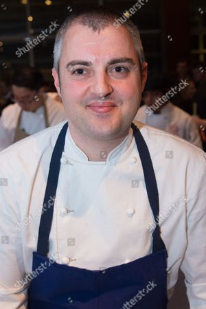 Chef Abram Bissell of restaurant The Modern attends the Careers Through Culinary Arts Program (C-CAP) Honors Award annual benefit at Pier Sixty, in New York