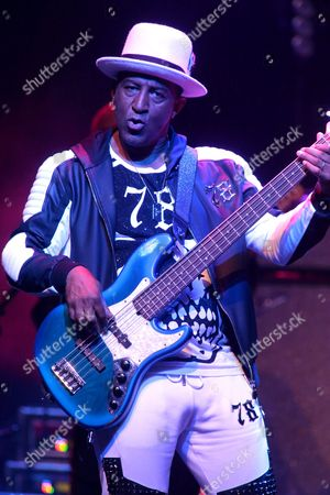 Mikey Craig of the band Culture Club performs in concert at The Electric Factory, in Philadelphia