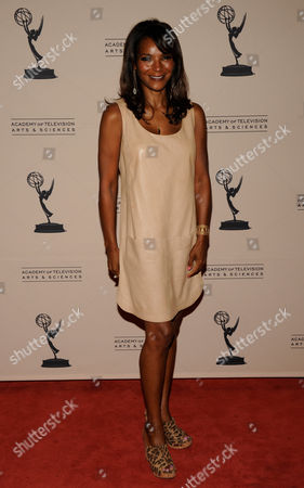 """Stock Image of LOS ANGELES CA - JUNE 14: Nominee Dr. Lisa Masterson arrives at the """"Daytime Emmy Nominee Reception Presented by the Academy of Television Arts & Sciences' Daytime Programming Peer Group"""" in the Garden Room & Terrace at the SLS Hotel at Beverly Hills on in Los Angeles, California. The 39th Daytime Entertainment Emmy Awards, presented by the National Academy, will take place on June 23, 2012 at The Beverly Hills Hotel"""