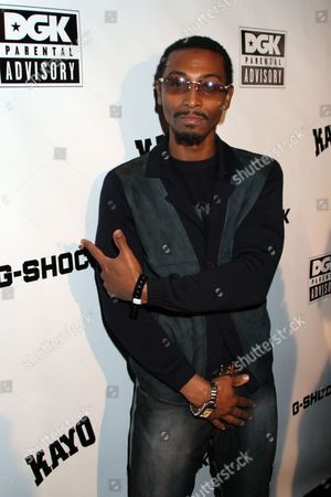 Actor and philanthropist Darris Love attends DGK Parental Advisory Premiere and Concert on Tuesday, December, 11th, 2012, at Avalon in Hollywood, California