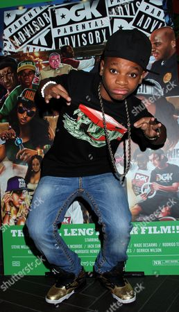 Young rapper and actor Lil Nigo attends DGK Parental Advisory Premiere and Concert on Tuesday, December, 11th, 2012, at Avalon in Hollywood, California