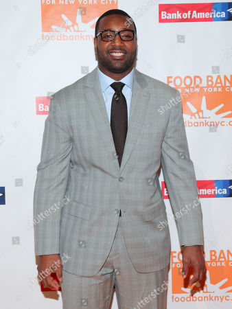 Chris Canty attends the Food Bank For New York City Can-Do Awards Dinner at Cipriani Wall Street, in New York