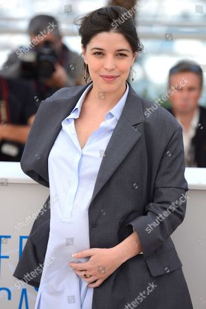 Heloise Godet during a photo call for Goodbye to Language (Adieu au language) at the 67th international film festival, Cannes, southern France