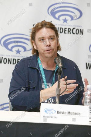 """Director/Writer/Executive Producer Kevin Munroe seen at Gramercy Pictures """"Ratchet & Clank"""" Wondercon Presentation at Los Angeles Convention Center, in Los Angeles, CA"""