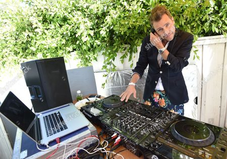 DJ Zen Freeman performs at the Hollister House featuring Cody Simpson and MKTO, in Santa Monica, Calif