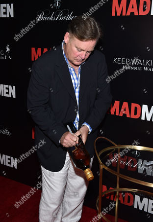 Editorial photo of Johnnie Walker and Brooks Brothers present Mad Men Cast and Crew Wrap Party, Los Angeles, USA