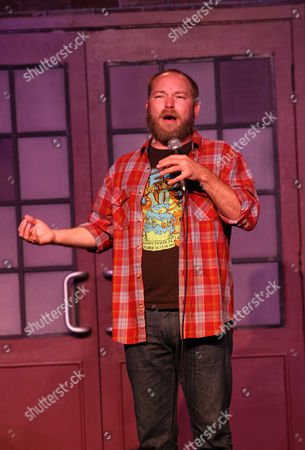 """Kyle Kinane performs at the """"Just For Laughs Comedy Festival"""" on at the UP Comedy Club in Chicago"""