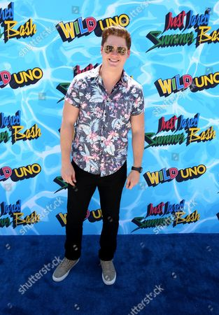 Matt Shively arrives at the Just Jared 4th Annual Summer Bash presented by Uno, in Beverly Hills, Calif