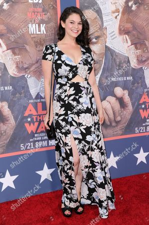 """Editorial photo of LA Premiere of """"All The Way"""" - Arrivals, Los Angeles, USA"""