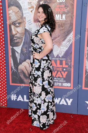 """Editorial picture of LA Premiere of """"All The Way"""" - Arrivals, Los Angeles, USA"""