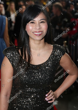 """Stock Picture of Camille Mana arrives at the Los Angeles premiere of """"Cake"""" at the ArcLight on"""