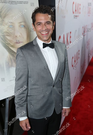"""Director Daniel Barnz arrives at the Los Angeles premiere of """"Cake"""" at the ArcLight on"""
