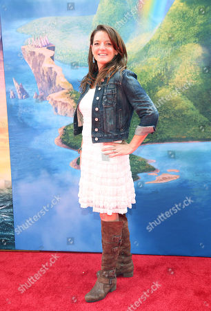 """Jenni Magee Cook arrives at LA Premiere of """"The Pirate Fairy"""" on in Burbank, Calif"""