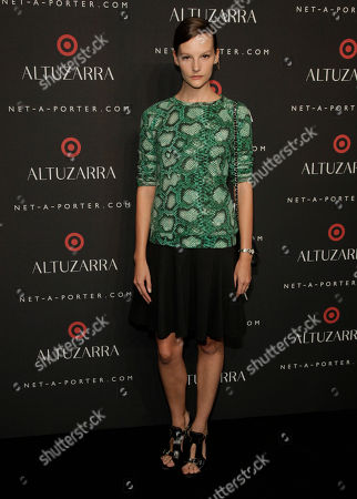 Sara Blomqvist attends the Altuzarra for Target launch event on in New York