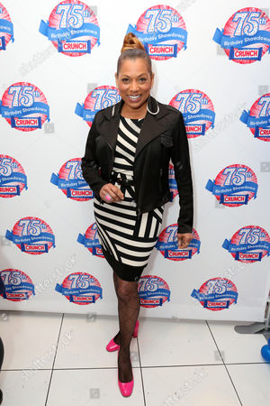 Actress Rolonda Watts participates in the kick-off of the Nestle Crunch 75th Birthday Showdown at Sweet E's on in Los Angeles. Fans can vote at Facebook.com/NestleCrunch for their favorite treat or bakery in the Nestle Crunch 75th Birthday Showdown