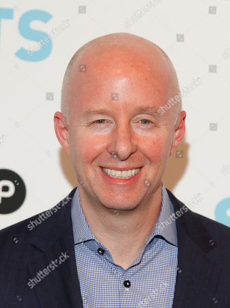"""USA Network president Chris McCumber arrives at """"Behind The Lens: An Intimate Look At The World Of Suits"""" at the Meatpacking District Gallery, in New York"""