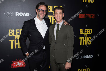 """Editorial photo of NY Premiere of """"Bleed For This"""", New York, USA"""