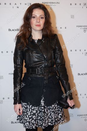 Aleksa Palladino attends the 'Breath In' premiere, on in New York