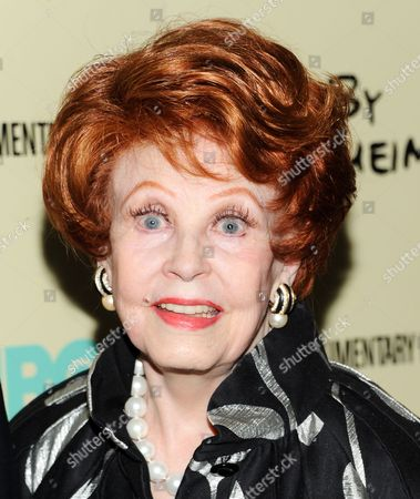"""Arlene Dahl attends the premiere of HBO's """"Six By Sondheim"""" at the Museum of Modern Art on in New York"""