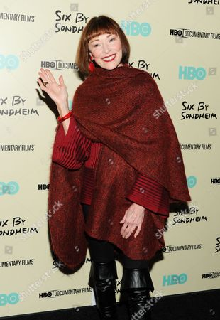"""Editorial photo of NY Premiere of """"Six By Sondheim"""", New York, USA"""