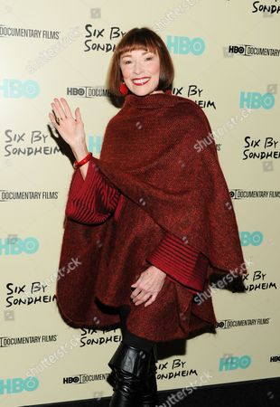 """Stock Photo of Actress Karen Akers attends the premiere of HBO's """"Six By Sondheim"""" at the Museum of Modern Art on in New York"""