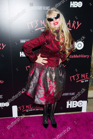 "Phoebe Legere attends a screening of HBO's ""It's Me, Hilary: The Man Who Drew Eloise"" at the Plaza Hotel on in New York"