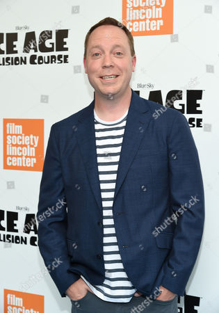 """Stock Image of Director Michael Thurmeier attends a special screening of, """"Ice Age: Collision Course"""", at the Walter Reade Theater, in New York"""