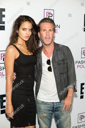 Nina Marie, left, and Scott Lipps arrive at the NYFW Spring/Summer 2016 - E! Party at The Standard Highline Biergarten on Wednesday Sept. 9th, 2015, in New York
