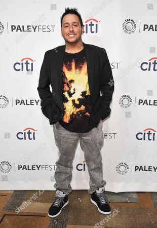 "Francis Capra arrives at PALEYFEST 2014 - ""Veronica Mars"" Reunion, in Los Angeles"