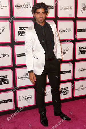 Stock Photo of Jason Canela arrives at the People en Español's 50 Most Beautiful Party, on in New York