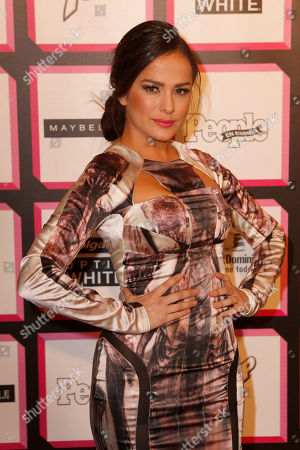 Danna Garcia arrives at the People en Español's 50 Most Beautiful Party, on in New York