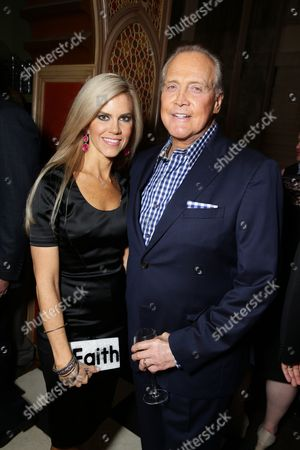 """Faith Majors and Lee Majors seen at Pure Flix Entertainment premiere of """"Do You Believe?"""" at Arclight Hollywood, in Los Angeles, CA"""