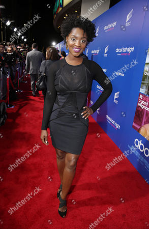 Yaani King seen at The Pan African Film & Arts Festival Premiere of Screen Gems' 'About Last Night', on Tuesday, Feb, 11, 2014 in Los Angeles