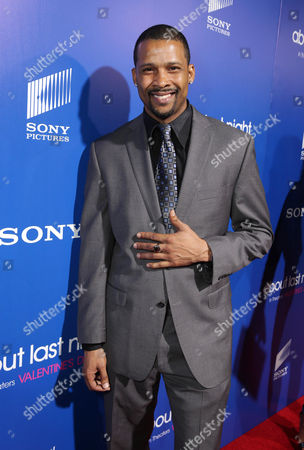 Trae Ireland seen at The Pan African Film & Arts Festival Premiere of Screen Gems' 'About Last Night', on Tuesday, Feb, 11, 2014 in Los Angeles