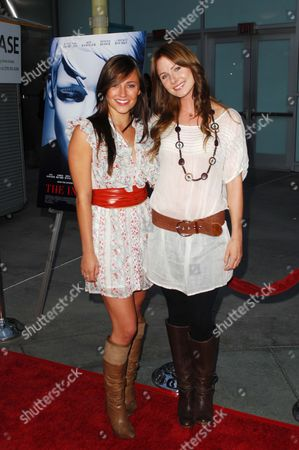 Briana and Vanessa Evigan