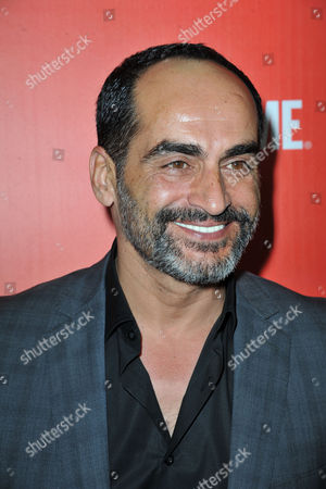 David Negahban arrives at the Showtime Primetime Emmy's Eve Party at the Sunset Tower on in Los Angeles
