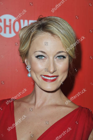 Stock Picture of Sadie Katz arrives at the Showtime Primetime Emmy's Eve Party at the Sunset Tower on in Los Angeles